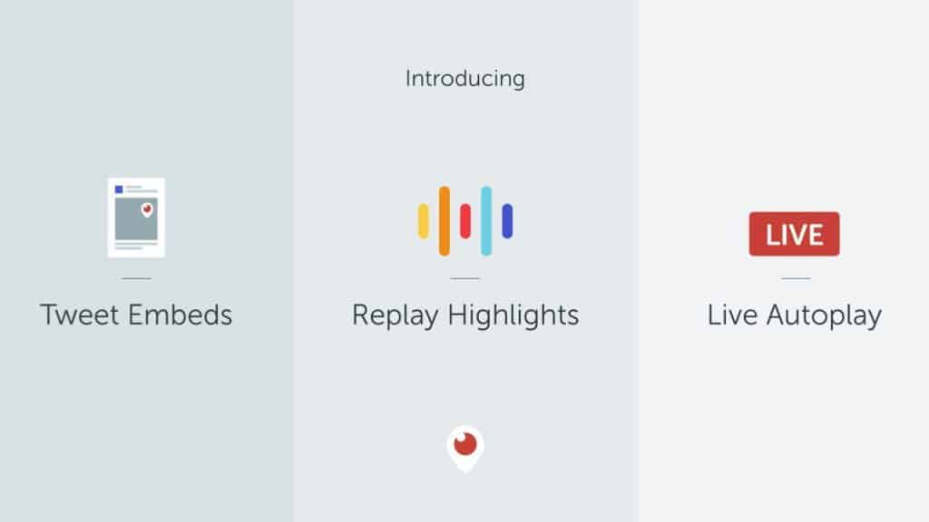 Introducing Replay Highlights, Periscope Tweet Embeds and Live Autoplay