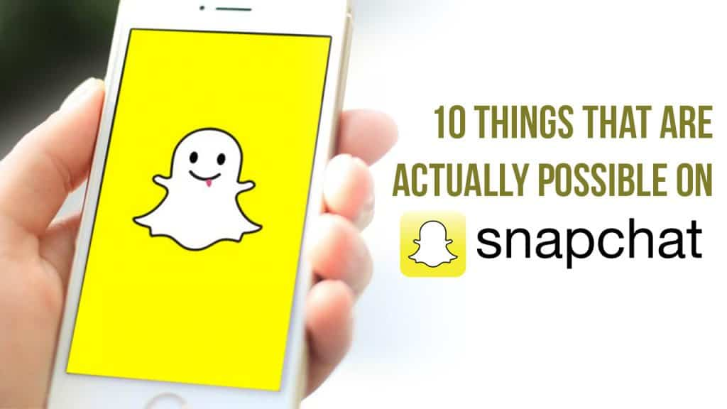 1280x720 blogpost 10 possible snapchat 10 Things That Are Actually Possible On Snapchat