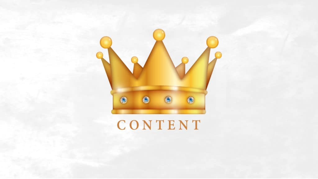 Why Content Will Always Be King Even on Social Media Why Content Will Always Be King - Even on Social Media