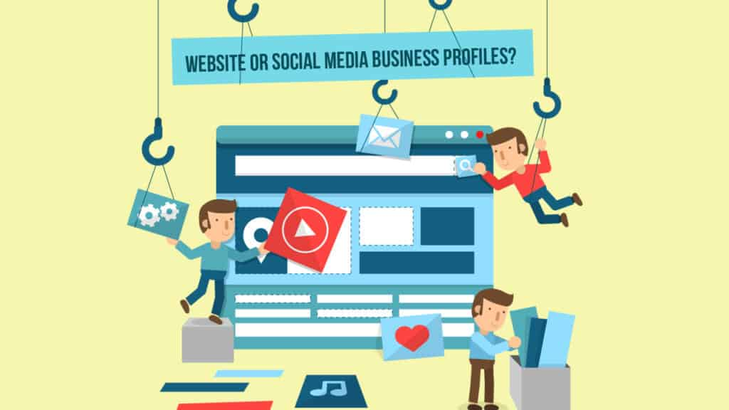 Focus and Create What First Website or Social Media Business Profiles Focus and Create What First: Website or Social Media Business Profiles?
