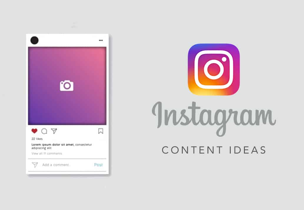 Five Instagram Content Ideas When You're All Out