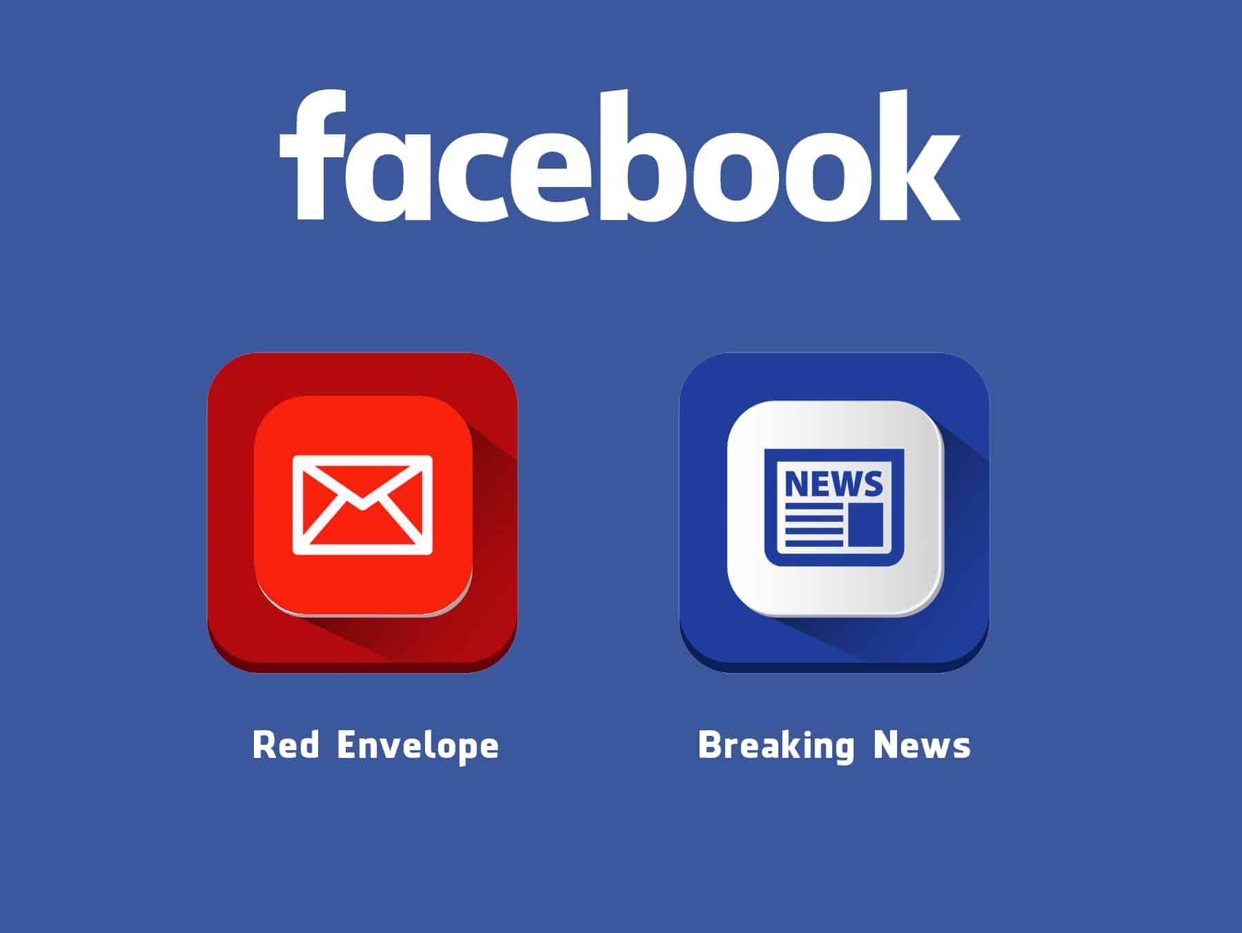 "Two Possibly New Features on Facebook – ""Red Envelope"" and ""Breaking News"" Tag"